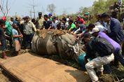 Seekor Badak Hanyut sampai India Dipulangkan ke Nepal