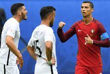 Demi Anak Kembarnya, Ronaldo Tinggalkan Piala Konfederasi