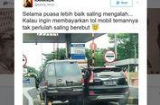 5 Berita Populer Nusantara, Viral Foto 2 Mobil 'Berebut' Masuk Pintu Tol hingga TKI Penjarakan Suaminya