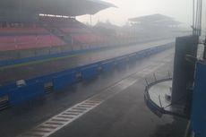 Sentul Hujan Deras, Balapan Pertama Kelas Sport 250cc Ditunda