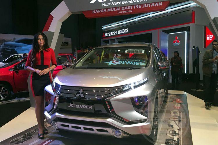 Xpander masih jadi andalan Mitsubishi di GIIAS Medan 2017.