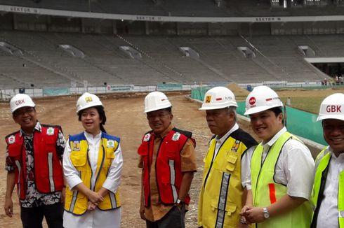 JK: Renovasi Kompleks GBK Senayan Penuhi Syarat Kualitas dan Waktu