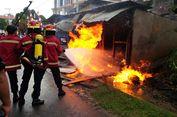 Kios Bensin Milik Janda Beranak Lima di Nunukan Terbakar