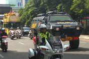 Pawai Kemenangan Bhayangkara FC Dikawal Mobil Baracuda