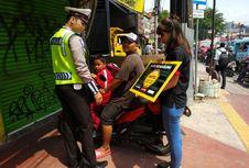 Kampanye Gatel Ajak Pengendara Sadar Penggunaan Trotoar