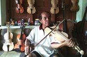 Belajar Bikin Biola dari Tukang Kayu, Kakek Marsandi Kini Kebanjiran Pesanan