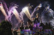 Pertunjukan Kembang Api nan Spektakuler di Hongkong Disneyland