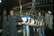 Jenazah WNA Asal Thailand Dievakuasi Menggunakan Crane