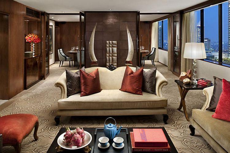 Kamar suite di Mandarin Oriental Jakarta, Mandarin Suite. (Dok. Mandarin Oriental)