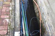 Ini Penampakan Kabel-kabel di Rasuna Said yang Bikin Anies Heran
