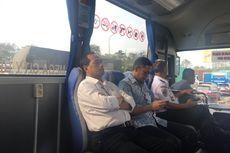 Pagi Hari, Bus Transjabodetabek Premium Sepi Penumpang