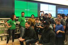 Gamer Rela Antre Menginap Sambut Penjualan Xbox One X
