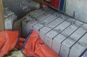 Polisi Temukan 16 Baterai Gardu Telkom Curian yang Disembunyikan