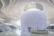 Wow, Perpustakaan di China Tampung 1,2 Juta Buku