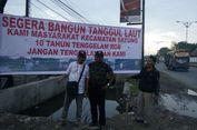 Para Kades di Sayung Desak Jokowi Bangun Tanggul Laut Anti Rob