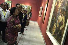 Megawati Kunjungi Pameran Lukisan Koleksi Istana