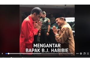 Cerita di Balik Jokowi Antar Habibie ke Kediaman
