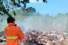 Tumpukan Sampah Nyaris Membakar Perkebunan Tebu