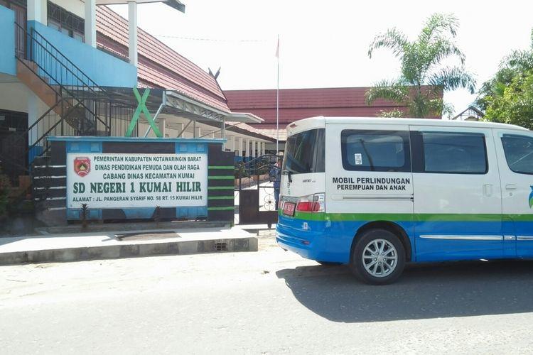 SDN Kumai Hilir 1 Kabupaten Kotawaringin Barat, tempat insiden pemukulan siswa oleh seorang anggota polisi