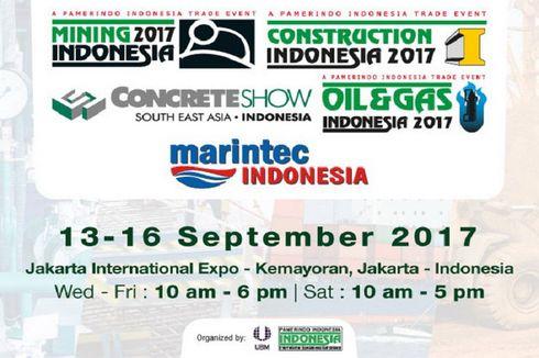 Pameran Konstruksi, Energi, dan Teknik Terbesar se-Asia Tenggara Hadir di Jakarta