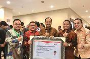 KBRI Singapura Menerima Penghargaan Wilayah Bebas Korupsi Tahun 2017