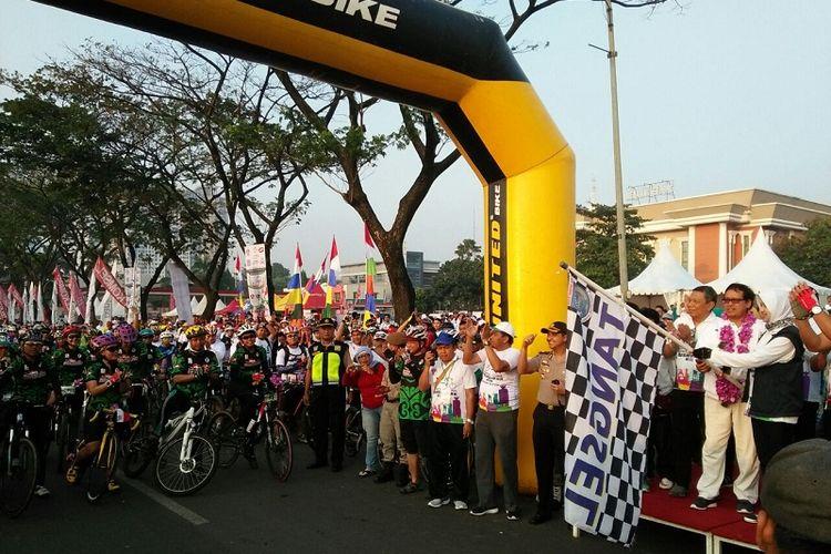 Gowes Pesona Nusantara (GPN) 2017 sudah melewati enam etape. Secara keseluruhan, peserta program kegiatan dari Kemenpora ini sudah menempuh jarak bersepeda 4.011 kilometer.