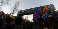 Puluhan Ribu Penonton Mulai Padati Camp Nou