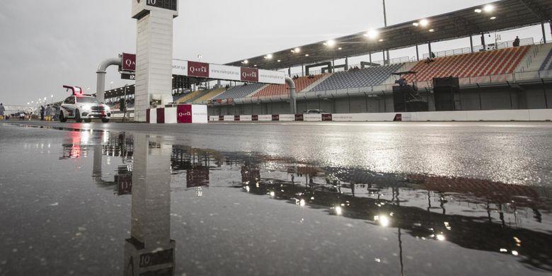Mengapa Sesi Kualifikasi MotoGP Qatar Dibatalkan?