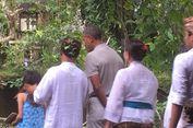 Di Ubud, Obama Berdoa di Pura untuk Perdamaian Dunia