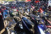 Ratusan Motor 'Mudik' Lebih Dulu ke Kampung Halaman
