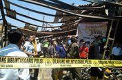 Tim Labfor Polri Cari Penyebab Kebakaran Pasar Kaliwungu Kendal