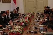 Jokowi Terima Emir Qatar Syekh Tamim di Istana Bogor
