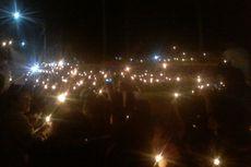 Ribuan Warga di Siantar Menyalakan 1.000 Lilin demi Bebaskan Ahok