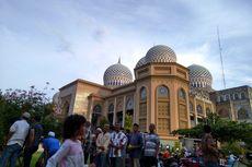 Ramadhan, Masjid Islamic Center Lhokseumawe Bagi-bagi Bubur Kanji Rumbi