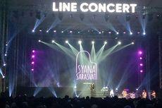 Isyana Sarasvati Spontan Ciptakan Lagu di Panggung LINE Concert