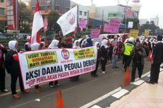 Aksi Peduli Debora Digelar Warga di Depan RS Mitra Keluarga Depok