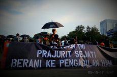 Aksi Kamisan: 72 Tahun TNI, Prajurit Sejati Berani ke Pengadilan HAM