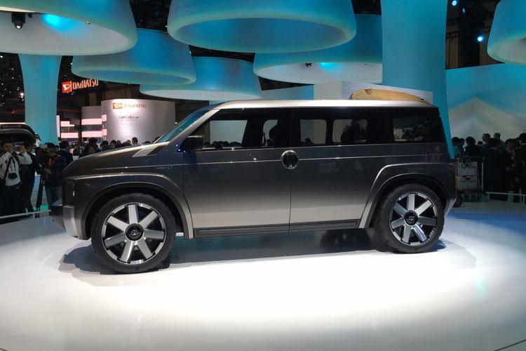 Toyota Tj Cruiser Concept kental aura petualang