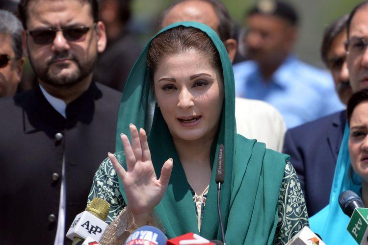 Maryam Nawaz Sharif, putri Perdana Menteri Pakistan, Nawaz Sharif yang terlibat skandal Fontgate.