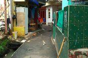 Permukiman Kampung Pulo Masih Tergenang Saat Hujan Deras