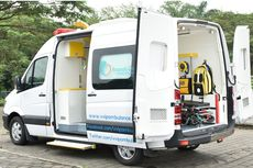 Begini Ambulans Versi Mercy Sprinter