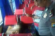 Seorang Mahasiswi Meninggal dengan Posisi Duduk di Kursi Bus
