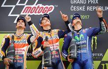 Podium MotoGP Ceko Tanpa Sampanye