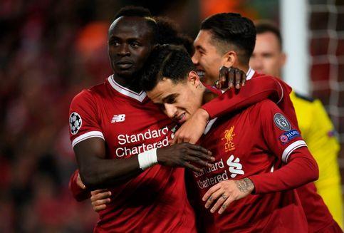 Hasil Liga Champions, Coutinho Cetak 3 Gol, Liverpool Menang 7-0