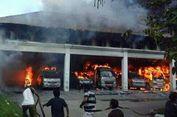 Kebakaran Rumah Sakit, Satu Orang dan 10 Ambulans Hangus Terbakar