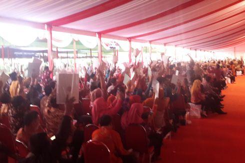 Pesan Presiden Jokowi kepada Penerima Sertifikat Tanah Gratis