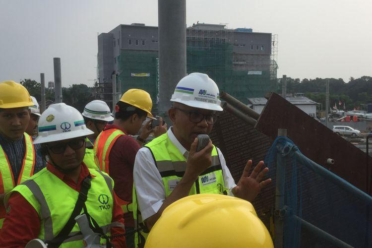 Direktur Utama PT MRT Jakarta William Sabandar