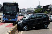 Separator Ditabrak, Bina Marga Keluhkan Pengguna Jalan Tidak Disiplin