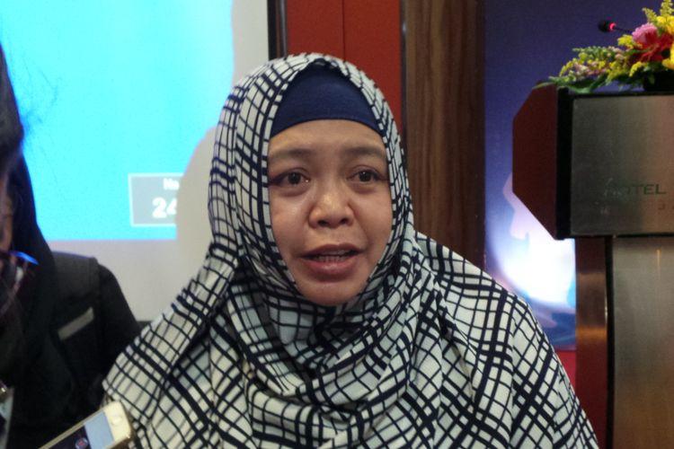 Kepala Subdit Analisis dan Perizinan Tenaga Kerja Asing Kementerian Tenaga Kerja dan Transmigrasi Yanti Nurhayati Ningsih