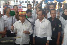 Tinjau Stasiun Senen, Ketua DPR Harap Mudik Berjalan Lancar
